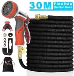 expandable garden hose - SPGOOD 100FT 30M Expandable Garden Hose Set with Splitter