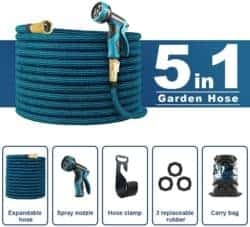 expandable garden hose - whimswit 100 ft