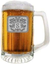 housewarming gifts for men - Glass Beer Pub Mug Hand Crafted