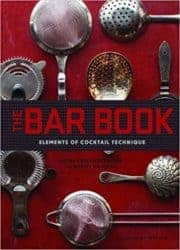 housewarming gifts for men - The Bar Book Elements of Cocktail Technique