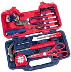 Best tool sets - 39-Piece Portable Household Repair Hand Tool Set