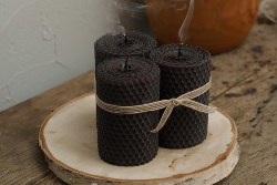 Black Pillar Candles (1)
