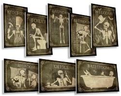 Gothic Door Signs (1)