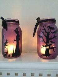 Halloween Decor Mason Jar (1)