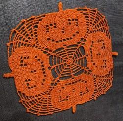 Halloween Pumpkin Placemat (1)