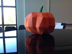 Pumpkin Paper Craft (1)