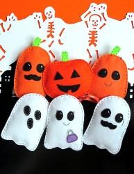 Pumpkin and Ghost Sewing DIY (1)