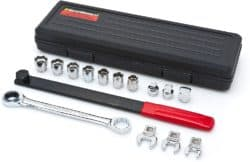 15 Pc. Ratcheting Serpentine Belt Tool Set