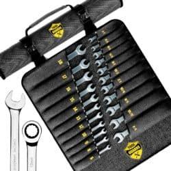 22pcs Ratcheting wrench set