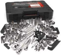230 PC SAE Metric Mechanics Tool Set