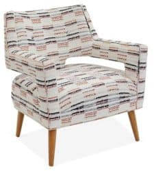 traditional mid century modern living Room Furniture - Hunter Accent Chair