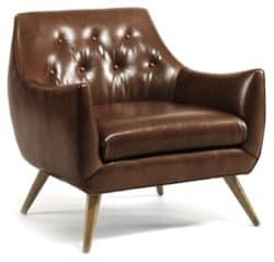 traditional mid century modern living Room Furniture - Marley Club Chair