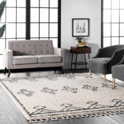 traditional mid century modern living Room Furniture - Moroccan Area Rug
