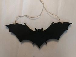 Vintage Halloween Decorations - Bat Hanging Decor (1)
