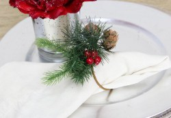 Berry Pine Cone Napkin Ring (1)