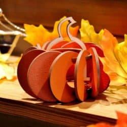 Pumpkin Tea Lights