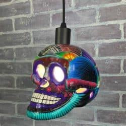 Mexican Talavera Skulls