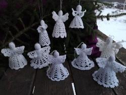 Big Crochet White Angels (1)