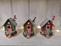 Christmas Beach Hut Decoration (1)