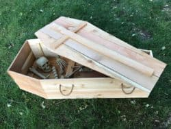 Halloween Coffin PLANS