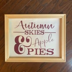 room decorations for fall - Fall Wall Sign