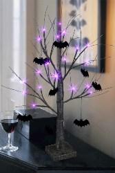 Vintage Halloween Decorations - Halloween Black Tree