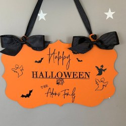 Halloween Door Sign (1)