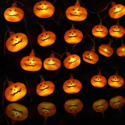 Halloween LED Pumpkins String Lights (1)