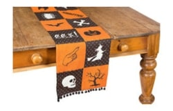 Halloween Patchwork Table Runner (1)