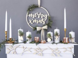 Hanging Wooden Mery Christmas Wall Decor (1)