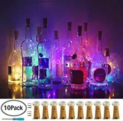 LED Wine Bottles