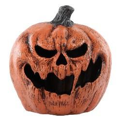 Vintage Halloween Decorations - Light Up Evil Pumpkin Halloween Props