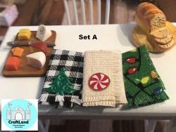 Miniature Christmas Kitchen Towel (1)