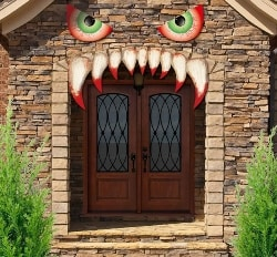 Cheap Halloween Decorations - Monster Face (1)