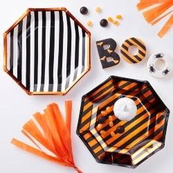 Orange Paper Plates (1)