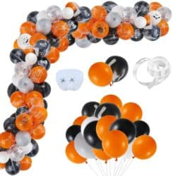 Outdoor Halloween party decorations - baloon