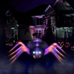 Outdoor inflatable Halloween decorations - Creepy Crawly Spider
