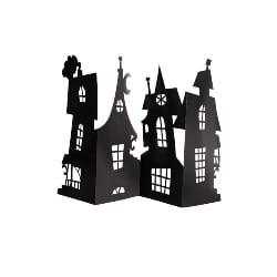 Paper Haunted House