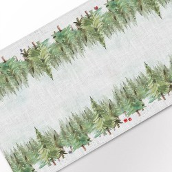 Paws in the Snow Table Runner (1)