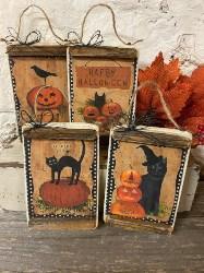 Primitive Halloween Jack Signs (2)
