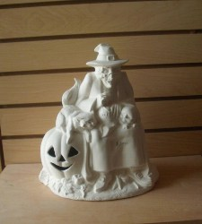 Ready to paint Ceramic witch (1)