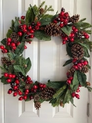 Rustic Christmas Wreath (1)