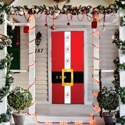 Santa's Belt Door Decor (1)