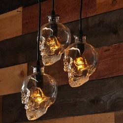 Skull Shape Pendant Light (1)
