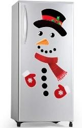 Snowman Ref Magnet (1)