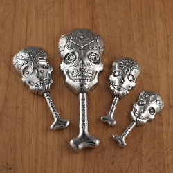 Sugar Skull Measuring Spoons (1)