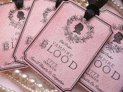 Vampire Blood Tags (1)
