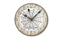 Vintage-Style Halloween Spider Clock (1)