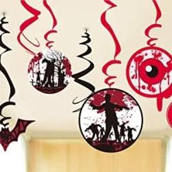 Zombie Hanging Swirls