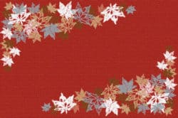 bathroom decorations for fall - Fall Leaves Rug